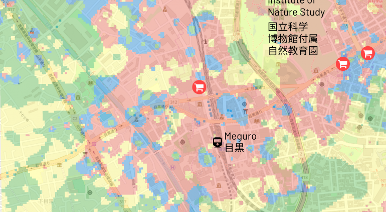 Heat Map Analysis - Meguro
